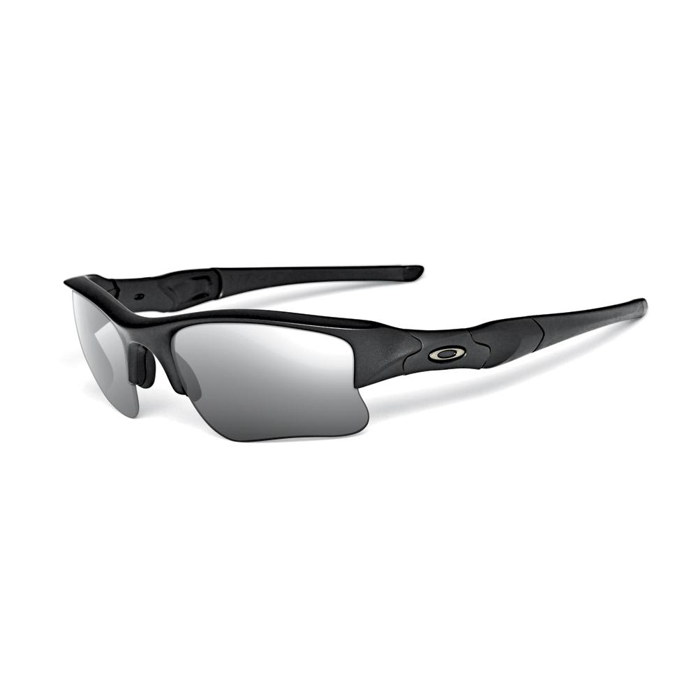 89a0b86bdf298 Oakley Flak Jacket XLJ Black Grey Polarized - Shoot Straight