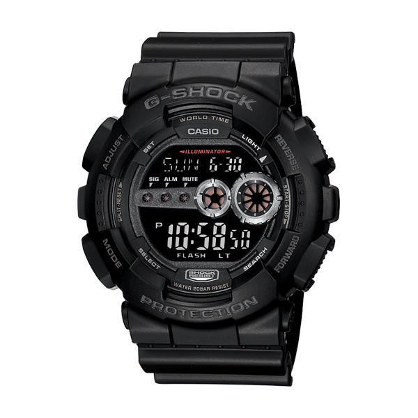 G-Shock Classic GD100-1B Black