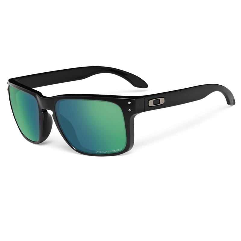 63d4b6e43f Oakley Holbrook Black Emerald Iridium Polarized - Shoot Straight