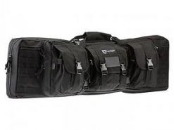 "Drago Gear 36"" Double Gun Case Black"