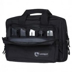 Drago Gear Double Pistol Case Black