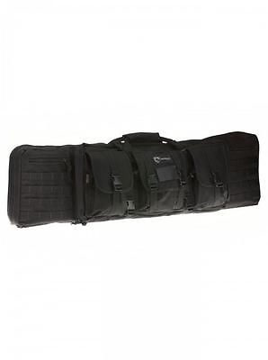 Drago Gear 42in Double Gun Case Black