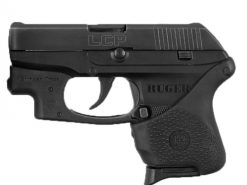 Hogue HandALL Hybrid Ruger LCP CTC Models Black