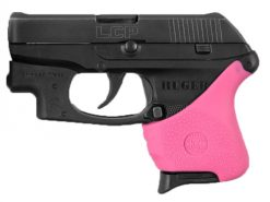 Hogue HandALL Hybrid Ruger LCP CTC Models Pink