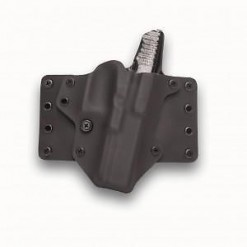 Blackpoint Right-Hand Leather Wing Holster 1911 4""