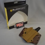 Blackpoint Right-Hand Leather Wing Holster Glock 17/22
