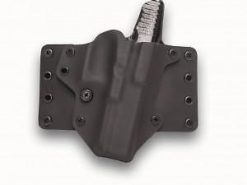 Blackpoint Right-Hand Leather Wing Holster Glock 43