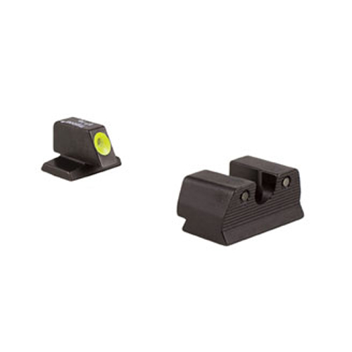 Trijicon Hd Night Sight Set Fnh Fns .40 - Yellow Front
