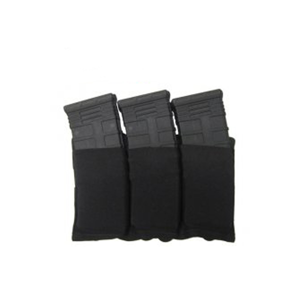 Blue Force Gear Ten-Speed Triple M4 Mag Pouch Black