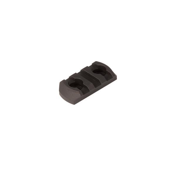 Magpul M-LOK Aluminum Rail 3 Slots Black