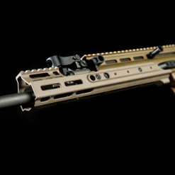 "Kinetic SCAR MREX M-LOK 4.9"" Short FDE"