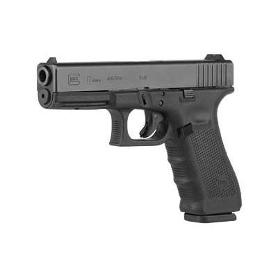 Glock 17 Gen 4, 17 Round Semi Auto Handgun, 9mm