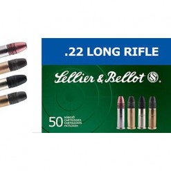 Sellier & Bellot 22LR 38Gr High Velocity HP, 50 Rounds