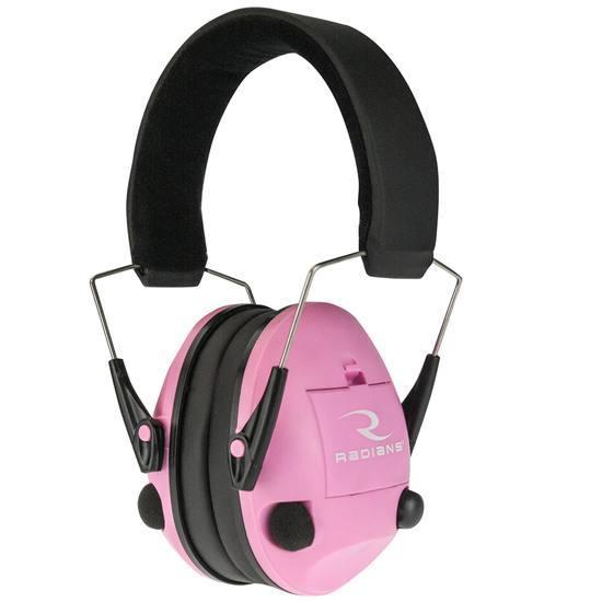 Radians Transverse Electronic Earmuff Pink