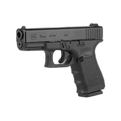 Glock 19 Gen 4 USA, 15 Round Semi Auto Handgun, 9mm