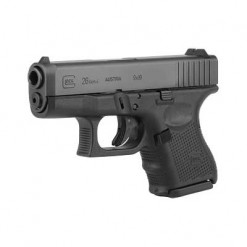 Glock 26 Gen 4 USA, 10 Round Semi Auto Handgun, 9mm