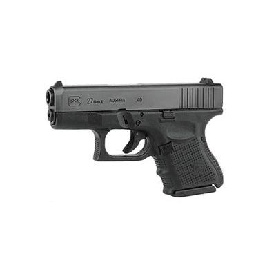 Glock 27 Gen 4 USA, 9 Round Semi Auto Handgun, .40 S&W