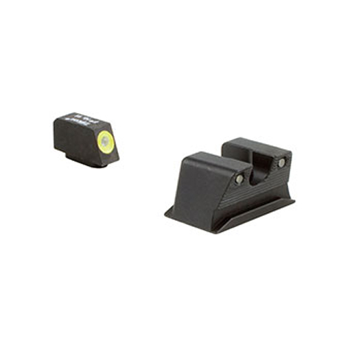 Trijicon Hd Night Sight Set Walther Pps/ppx - Yellow Front