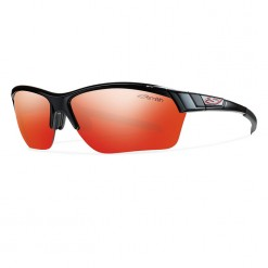Smith Approach Max Black Red Sol-X Mirror