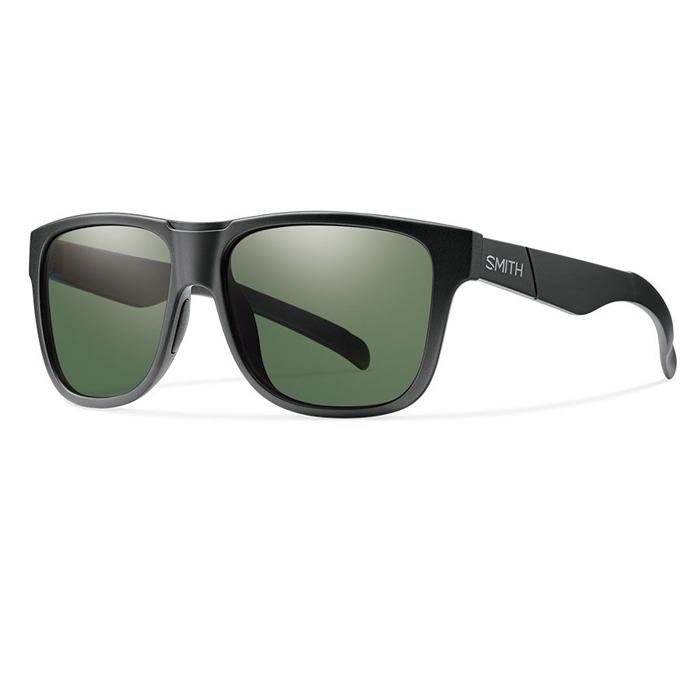 e9fbe4a847 Smith Lowdown XL Matte Black Polarized Grey Green - Shoot Straight