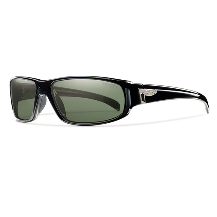 06510b5410 Smith Precept Black Techlite Polarized Grey Green - Shoot Straight
