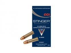 CCI 0050 22 LR Stinger CPHP 32gr 50 Rounds