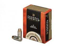 Federal Premium .38 Special +P 129gr