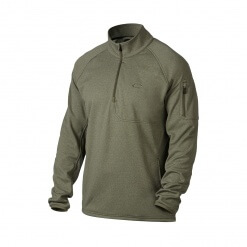 Oakley Hydrofree 1/4-Zip Fleece Jacket Worn Olive