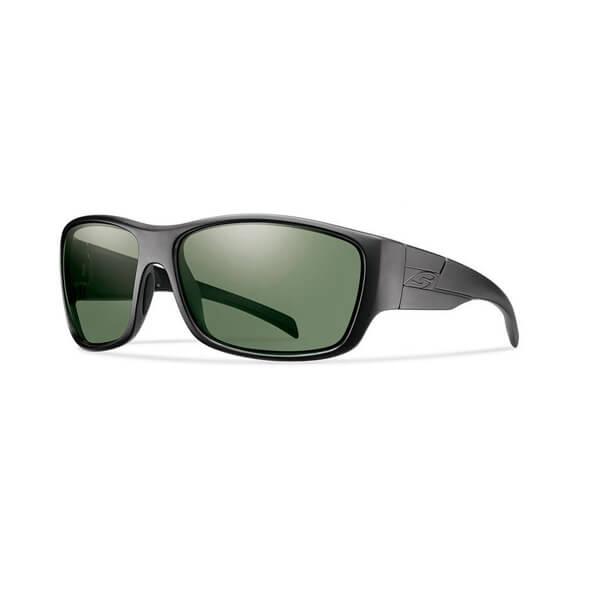 8dd97f09f49 Smith Frontman Elite Black ChromaPop Polarized Grey Green - Shoot ...