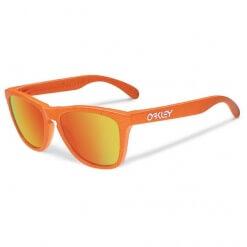 Oakley Frogskins Fingerprint Orange Fire Iridium