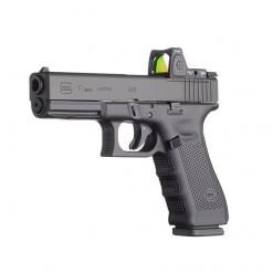 Glock 17 Gen 4 MOS, 17 Round Semi Auto Handgun, 9mm