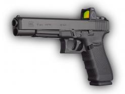 Glock 41 Gen 4 MOS, 13 Round Semi Auto Handgun, .45 ACP