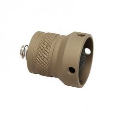 SureFire Replacement Rear Cap Assembly Tan