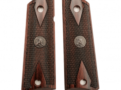 Pachmayr Colt 1911 Double Diamond Rosewood