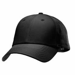 Under Armour Black Friend or Foe Stretch Fit Cap