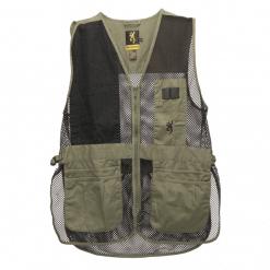 Browning Men's Trapper Creek Vest Sage Black, X-Large