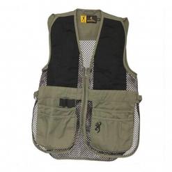 Browning Junior Trapper Creek Vest Sage Black, X-Large