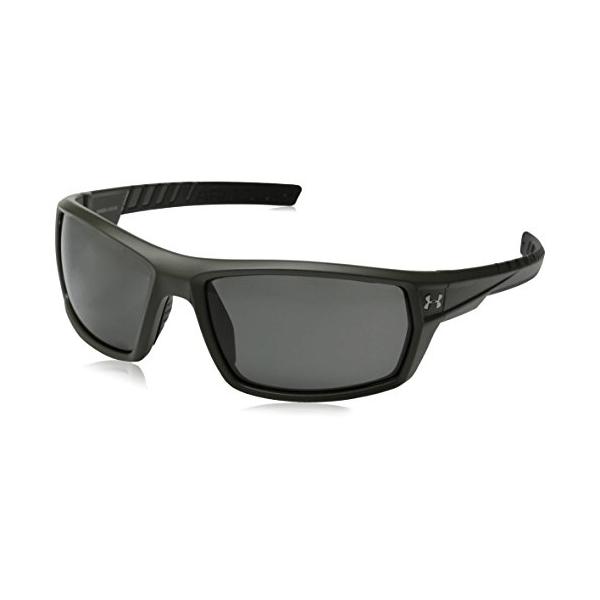 1ed6c13a37f5 Under Armour Ranger Satin Rough Green Sunglasses - Shoot Straight