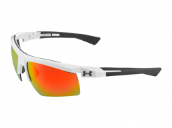 Under Armour Core 2.0 Shiny White Sunglasses