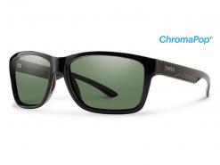 Smith Drake Black ChromaPop Polarized Gray Green
