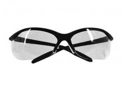 Honeywell Vapor II Black Frame Clear Lens