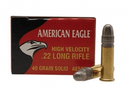 Federal American Eagle 22LR High Velocity 40Gr LRN Ammunition