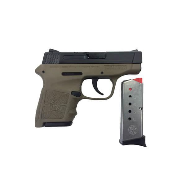 Smith & Wesson M&P Bodyguard 380 FDE, 6 Round Semi Auto Handgun, .380 ACP