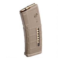 Magpul PMAG 30 AR-15 Gen M2 Windowed FDE, 30 Round Magazine, 5.56X45mm NATO, .223 Rem