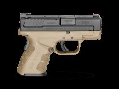 "Springfield XD Mod.2 Sub-Compact Model FDE 3"", 13 Round Semi Auto Handgun, 9mm"