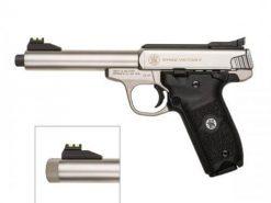 Smith & Wesson SW22 Victory Threaded Barrel, 10 Round Semi Auto Rimfire Handgun, .22 LR