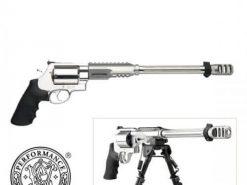 "Smith & Wesson Performance Center Model 460XVR 14"" Barrel with Bi-Pod, 5 Round Revolver, .460 S&W Magnum"