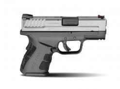 "Springfield XD Mod.2 Sub-Compact Model Bi-Tone 3.3"", 9 Round Semi Auto Handgun, .45 ACP (With Gear)"