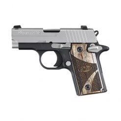Sig Sauer P238 Blackwood Two Tone, 6 Round Semi Auto Handgun, .380 ACP