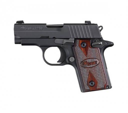 Sig Sauer P238 Rosewood Micro-Compact, 6 Round Semi Auto Handgun, .380 ACP